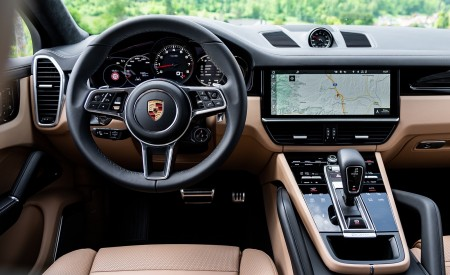2020 Porsche Cayenne S Coupé (Color: Moonlight Blue Metallic) Interior Cockpit Wallpapers 450x275 (73)