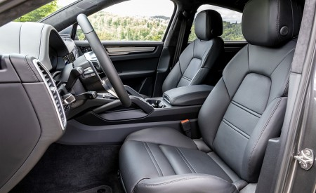 2020 Porsche Cayenne S Coupé (Color: Quarzite Grey Metallic) Interior Front Seats Wallpapers 450x275 (33)