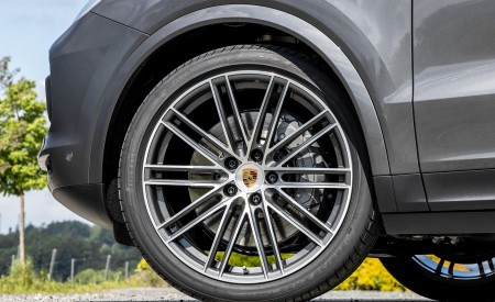 2020 Porsche Cayenne S Coupé (Color: Quarzite Grey Metallic) Wheel Wallpapers 450x275 (25)