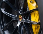 2020 Porsche Cayenne Turbo Coupe (Color: Lava Orange) Brakes Wallpapers 150x120 (43)