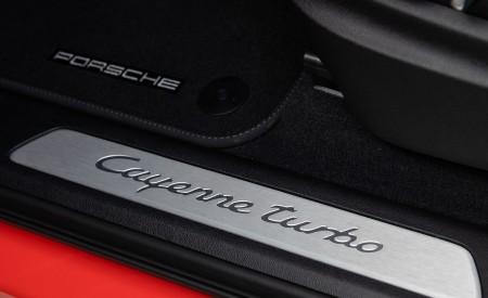 2020 Porsche Cayenne Turbo Coupe (Color: Lava Orange) Door Sill Wallpaper 450x275 (44)