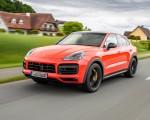 2020 Porsche Cayenne Turbo Coupe (Color: Lava Orange) Front Three-Quarter Wallpapers 150x120 (23)