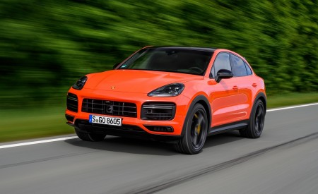 2020 Porsche Cayenne Turbo Coupe Wallpapers HD