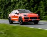 2020 Porsche Cayenne Turbo Coupe (Color: Lava Orange) Front Three-Quarter Wallpapers 150x120 (4)