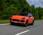 2020 Porsche Cayenne Turbo Coupe (Color: Lava Orange) Front Three-Quarter Wallpapers 150x120 (12)