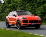 2020 Porsche Cayenne Turbo Coupe (Color: Lava Orange) Front Three-Quarter Wallpapers 150x120 (5)