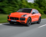 2020 Porsche Cayenne Turbo Coupe (Color: Lava Orange) Front Three-Quarter Wallpapers 150x120 (13)