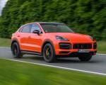 2020 Porsche Cayenne Turbo Coupe (Color: Lava Orange) Front Three-Quarter Wallpapers 150x120 (6)