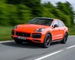 2020 Porsche Cayenne Turbo Coupe (Color: Lava Orange) Front Three-Quarter Wallpapers 150x120 (2)