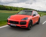 2020 Porsche Cayenne Turbo Coupe (Color: Lava Orange) Front Three-Quarter Wallpapers 150x120 (26)