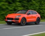 2020 Porsche Cayenne Turbo Coupe (Color: Lava Orange) Front Three-Quarter Wallpapers 150x120 (7)