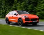 2020 Porsche Cayenne Turbo Coupe (Color: Lava Orange) Front Three-Quarter Wallpapers 150x120 (8)