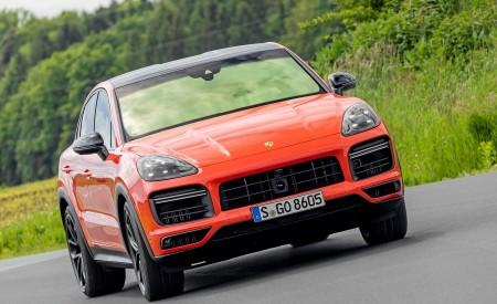 2020 Porsche Cayenne Turbo Coupe (Color: Lava Orange) Front Wallpaper 450x275 (33)
