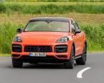 2020 Porsche Cayenne Turbo Coupe (Color: Lava Orange) Front Wallpapers 150x120 (34)