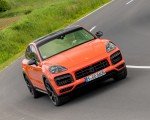 2020 Porsche Cayenne Turbo Coupe (Color: Lava Orange) Front Wallpapers 150x120 (35)