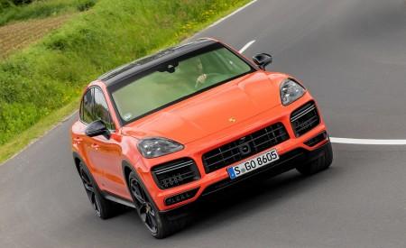 2020 Porsche Cayenne Turbo Coupe (Color: Lava Orange) Front Wallpaper 450x275 (35)