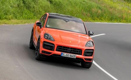 2020 Porsche Cayenne Turbo Coupe (Color: Lava Orange) Front Wallpaper 450x275 (36)