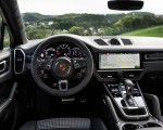 2020 Porsche Cayenne Turbo Coupe (Color: Lava Orange) Interior Cockpit Wallpapers 150x120 (49)