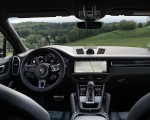 2020 Porsche Cayenne Turbo Coupe (Color: Lava Orange) Interior Cockpit Wallpapers 150x120 (50)