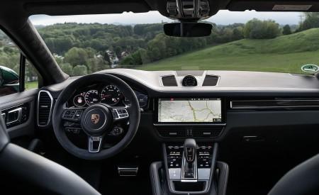 2020 Porsche Cayenne Turbo Coupe (Color: Lava Orange) Interior Cockpit Wallpaper 450x275 (50)