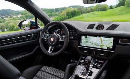 2020 Porsche Cayenne Turbo Coupe (Color: Lava Orange) Interior Wallpapers 450x275 (53)