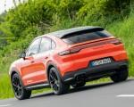 2020 Porsche Cayenne Turbo Coupe (Color: Lava Orange) Rear Three-Quarter Wallpapers 150x120 (37)