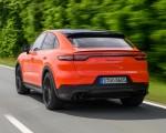 2020 Porsche Cayenne Turbo Coupe (Color: Lava Orange) Rear Three-Quarter Wallpapers 150x120 (28)