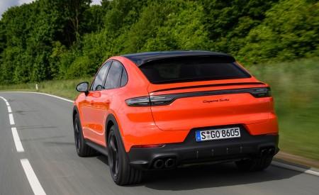 2020 Porsche Cayenne Turbo Coupe (Color: Lava Orange) Rear Three-Quarter Wallpaper 450x275 (15)