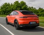 2020 Porsche Cayenne Turbo Coupe (Color: Lava Orange) Rear Three-Quarter Wallpapers 150x120 (9)