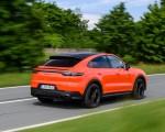 2020 Porsche Cayenne Turbo Coupe (Color: Lava Orange) Rear Three-Quarter Wallpapers 150x120 (16)