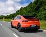 2020 Porsche Cayenne Turbo Coupe (Color: Lava Orange) Rear Three-Quarter Wallpapers 150x120 (17)