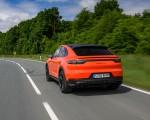 2020 Porsche Cayenne Turbo Coupe (Color: Lava Orange) Rear Three-Quarter Wallpapers 150x120 (18)