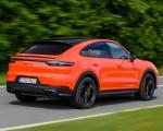 2020 Porsche Cayenne Turbo Coupe (Color: Lava Orange) Rear Three-Quarter Wallpapers 150x120 (19)