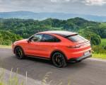 2020 Porsche Cayenne Turbo Coupe (Color: Lava Orange) Rear Three-Quarter Wallpapers 150x120 (29)