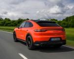 2020 Porsche Cayenne Turbo Coupe (Color: Lava Orange) Rear Three-Quarter Wallpapers 150x120 (21)