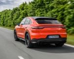 2020 Porsche Cayenne Turbo Coupe (Color: Lava Orange) Rear Three-Quarter Wallpapers 150x120 (10)