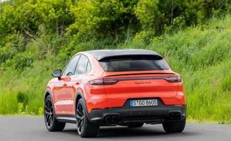 2020 Porsche Cayenne Turbo Coupe (Color: Lava Orange) Rear Wallpapers 450x275 (39)