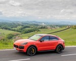 2020 Porsche Cayenne Turbo Coupe (Color: Lava Orange) Side Wallpapers 150x120 (31)