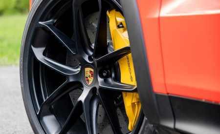 2020 Porsche Cayenne Turbo Coupe (Color: Lava Orange) Wheel Wallpapers 450x275 (41)