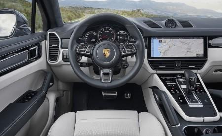 2020 Porsche Cayenne Turbo Coupe Interior Cockpit Wallpaper 450x275 (70)