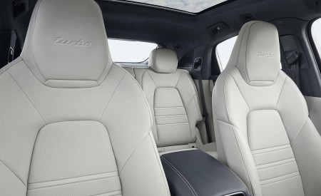2020 Porsche Cayenne Turbo Coupe Interior Seats Wallpapers 450x275 (68)