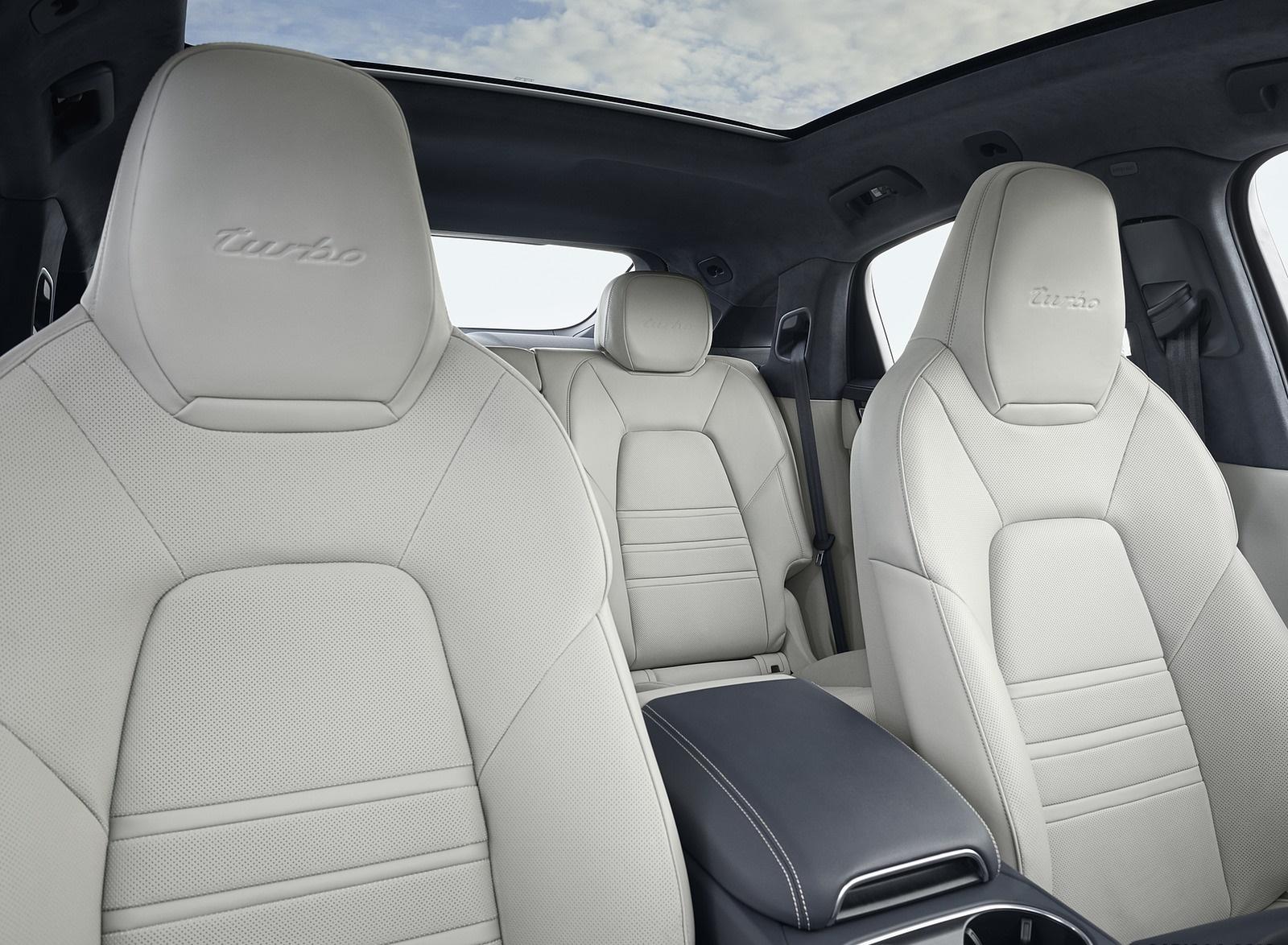 2020 Porsche Cayenne Turbo Coupe Interior Seats Wallpaper (14)