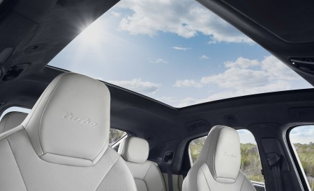 2020 Porsche Cayenne Turbo Coupe Panoramic Roof Wallpaper 450x275 (67)