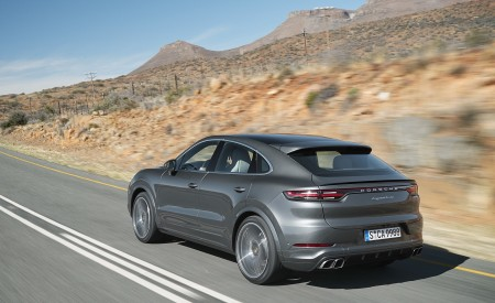 2020 Porsche Cayenne Turbo Coupe Rear Three-Quarter Wallpapers 450x275 (56)