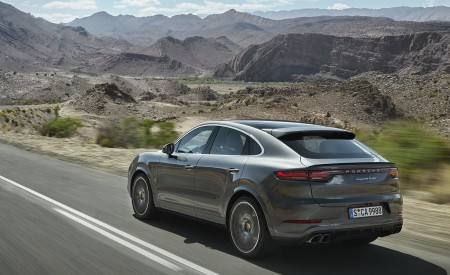 2020 Porsche Cayenne Turbo Coupe Rear Three-Quarter Wallpapers 450x275 (57)