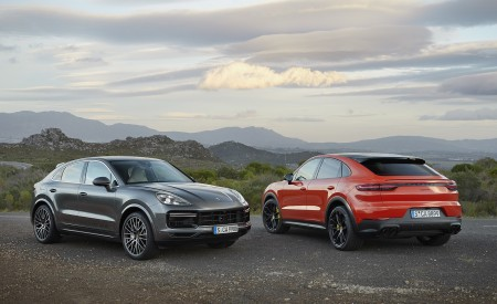 2020 Porsche Cayenne Turbo Coupe and Cayenne Coupe Wallpapers 450x275 (60)
