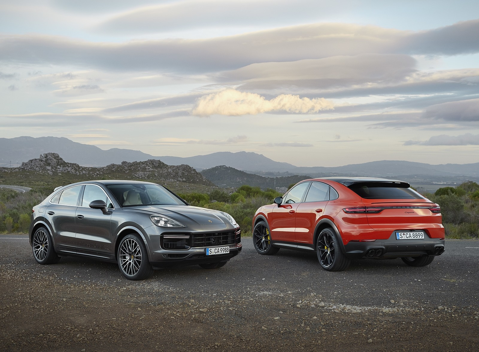 2020 Porsche Cayenne Turbo Coupe and Cayenne Coupe Wallpaper (6)