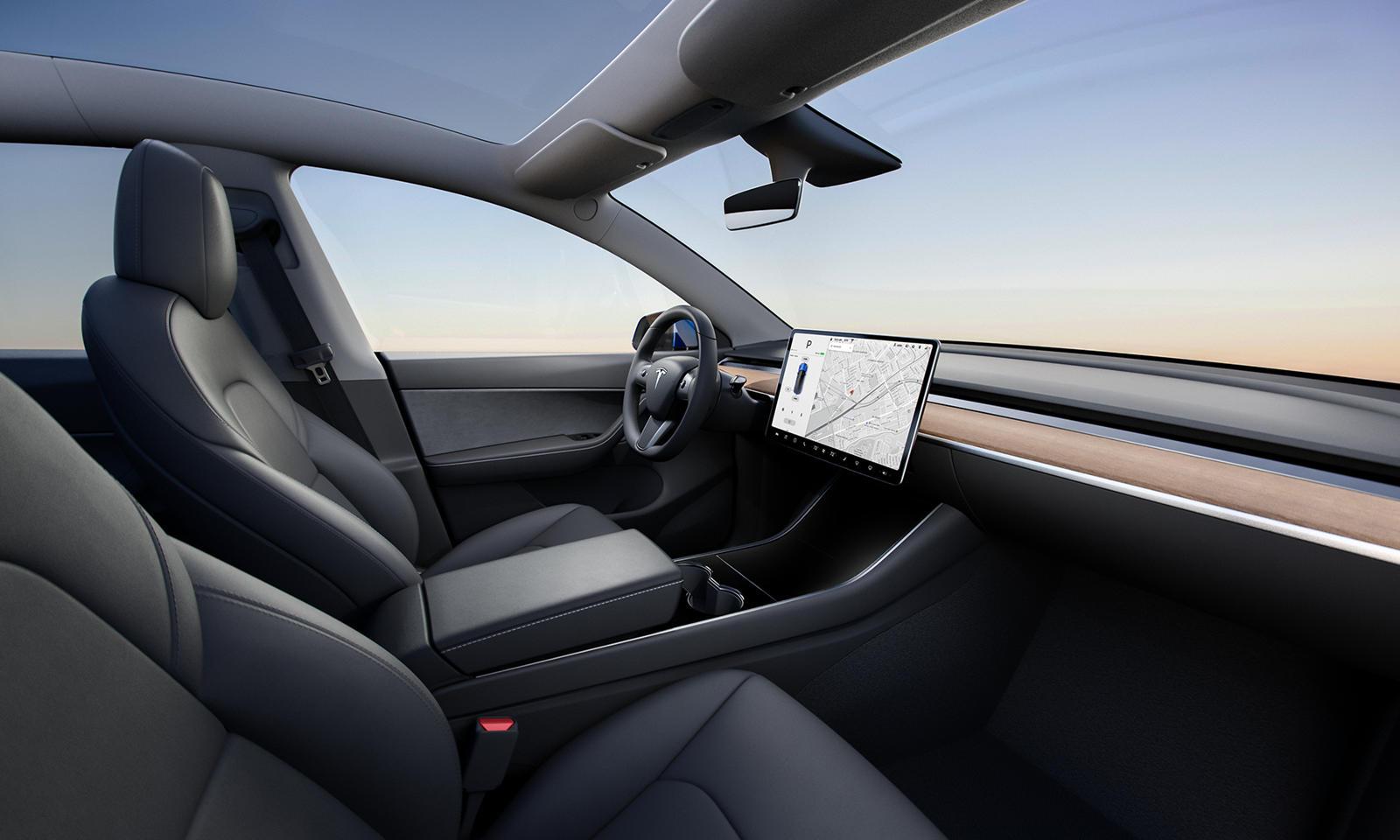 2021 Tesla Model Y Interior Cockpit Wallpapers (7)