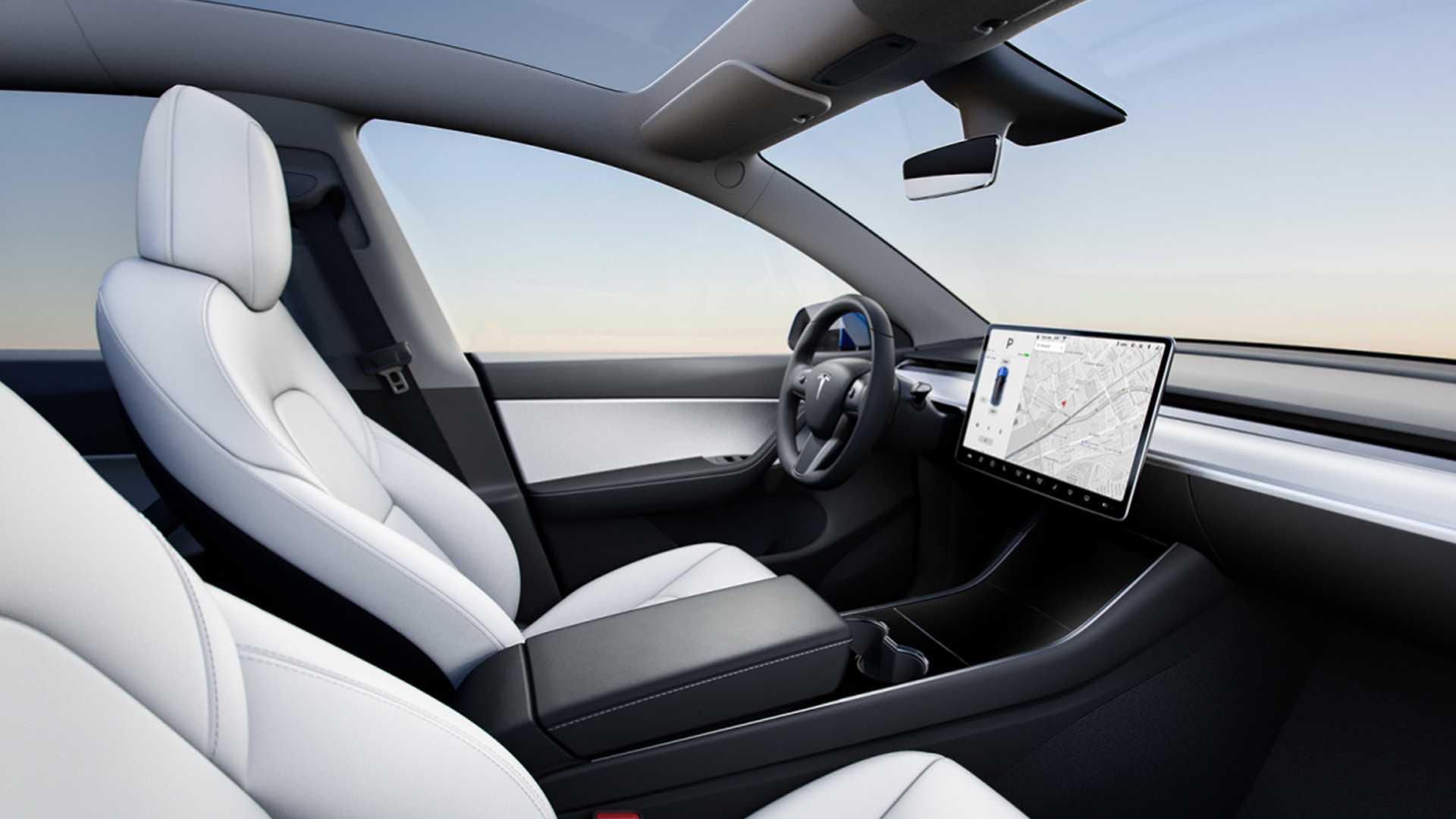 2021 Tesla Model Y Interior Wallpapers (6)