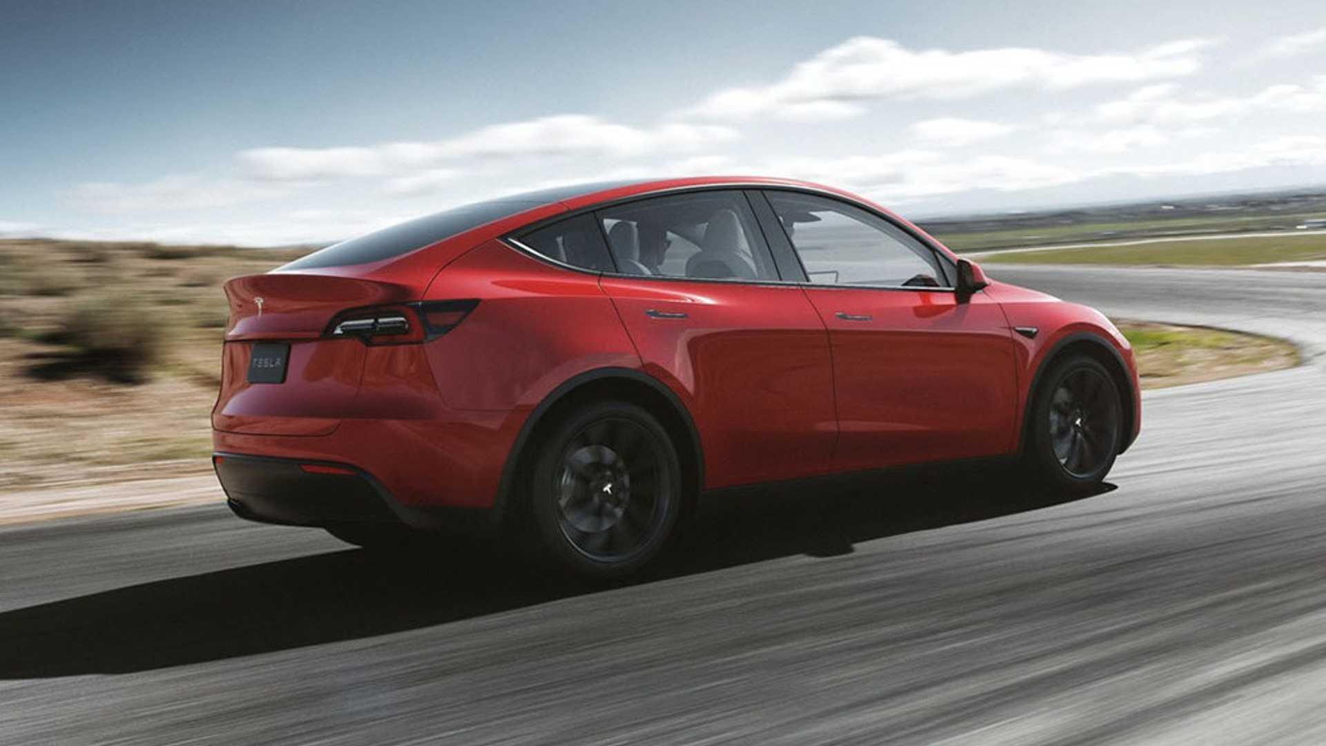 2021 Tesla Model Y Rear Three-Quarter Wallpapers (5)